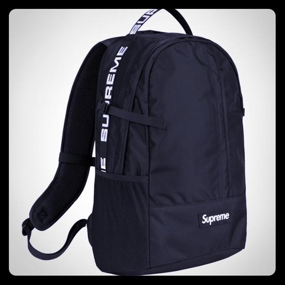 4328d4878c29 Supreme backpack SS18
